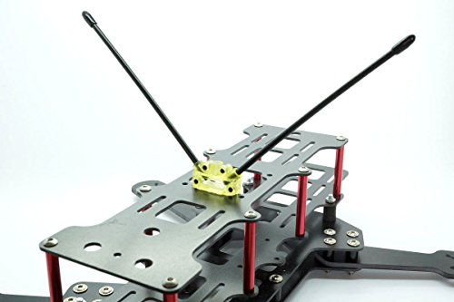 Dual / Single Antennen Empfänger Sockel 45°/90° -