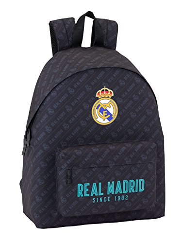 0ff212dbec Day Pack Estamp Real Madrid Black Sac à Dos officiel, Sac à Dos pour enfant
