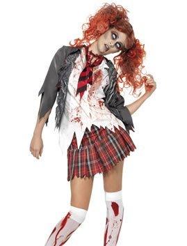 NEU Damen-Kostüm Zombie School-Girl Gr. S