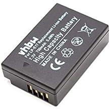 vhbw Li-Ion batterie 750mAh (7.2V) pour appareil photo DSLR Canon EOS 200D, 77D, 750D, 760D, 800D, M3, M5, M6
