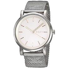 00f60e8544b7 DKNY Reloj Analogico para Mujer de Cuarzo con Correa en Acero Inoxidable  NY2620