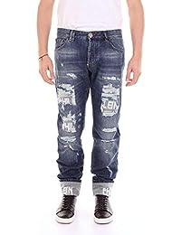 Philipp Plein Hombre MDT0697PDE001NBLUEJEANS Azul Algodon Jeans
