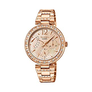 Casio Sheen Analog Multi-Colour Dial Women's Watch – SHE-3043PG-9AUDR (SX162)