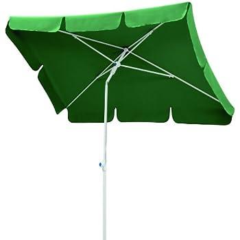 Schneider Sonnenschirm 606-11 MONZA ca. 180x120cm, rechteckig, grün