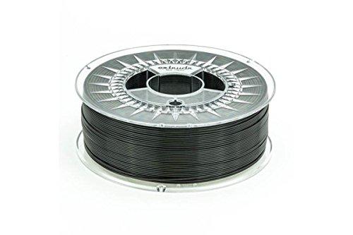 extrudr® PETG ø2.85mm (1.1kg) SCHWARZ (RGB 000:000:000) - 3D Drucker Filament - Made in EU - höchste Qualität zum fairen Preis!
