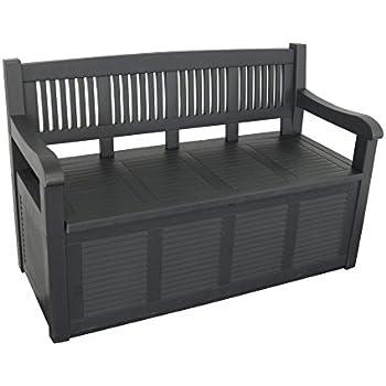 Gartenbank 2-Sitzer Aufbewahrung Kissenbox Gartenmöbel