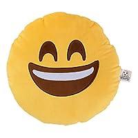 Love Bomb Cushions 0001 Kiss Wink Emoji Cushion