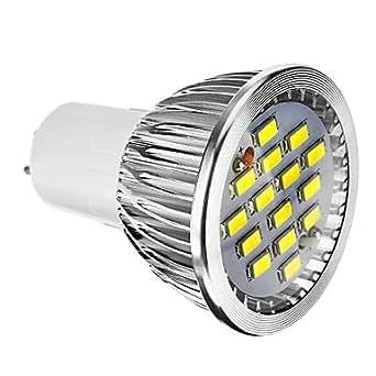 PRO lIGHT-Dimmable G5.3 5.5W 400LM 15x5730SMD 6000-7000K fraîche ampoule blanche Spot LED (220-240V)
