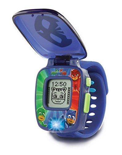 VTech PJ Masks Gatuno, Reloj Digital Educativo Que estimula el Aprendizaje e incorpora minijuegos y Actividades Color Azul 3480-175822