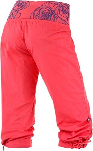 E9 Damen Kletterhose Rot