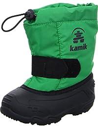 Kamik NK9446 Botas De Nieve de Material Sintético para Niños
