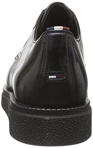 Hilfiger Denim Damen K1385eeper 1p Slipper Schwarz (black 990)