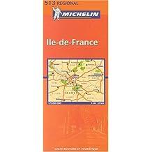 Carte routière : Île-de-France, N° 11513