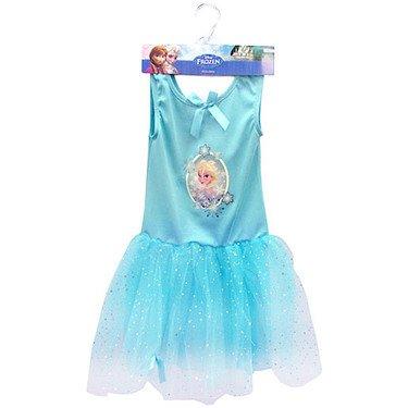 Disney – frozen : il regno di ghiaccio – vestito di elsa ( taglia media 5-6 anni)
