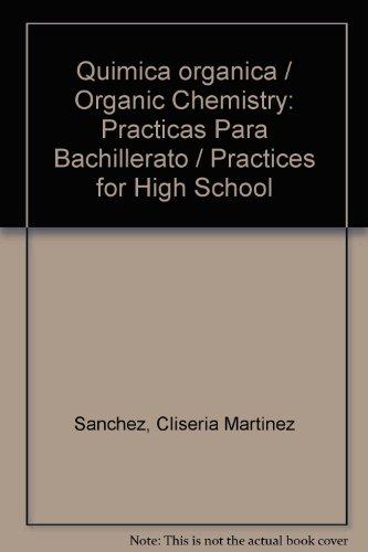 Quimica organica/Organic Chemistry