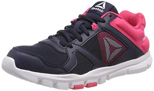 official photos db11d 0b3df Reebok Yourflex Train 10, Scarpe da Fitness Donna, (Collegiate Navy Twisted  Pink