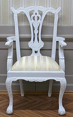 Chaise baroque de style Cottage Antique Colonial