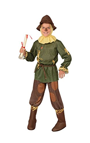 Rubie's offizielle Der Zauberer von Oz Vogelscheuche, Kinderkostüm–5–7Jahre