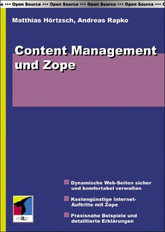 mitp-Verlag Content Management und Zope