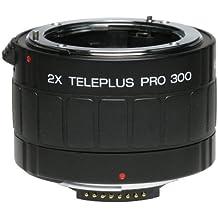 Kenko PRO 300 AF DGX 2.0X - Objetivo (7/4, Canon-EOS / Nikon-AF, Negro, 27 mm, 184 g, 2 x)
