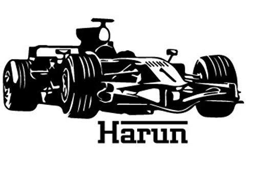 Lakmv Etiqueta pared Pvc 4Wd Racing Decoración fondo