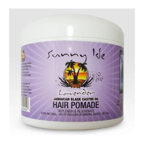Sunny Isle Lavender Jamaican Black Castor Oil Hair Pomade 4 Oz