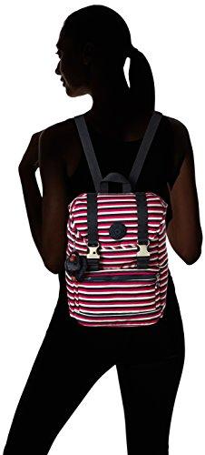 Kipling - Experience S, Zaini Donna Multicolore (Sugar Stripes)