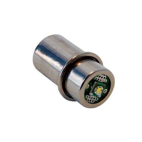 Preisvergleich Produktbild HQRP high power 3W LED Birne für Maglite-/ST3D106/S3D095/S4D016/S4D015/S4D035Taschenlampe