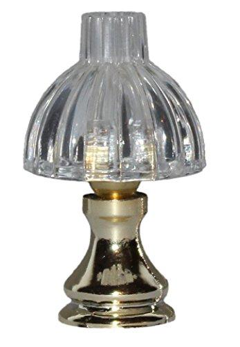 Rulke Rulke010449 - Lámpara de Mesa con Base de plástico y Pantalla de Cristal