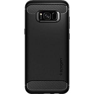 Spigen Rugged Armor Case for Samsung Galaxy S8 Plus (Black_571CS21661)