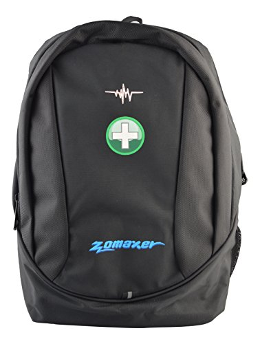Zomaxer 25 Liters Polyester Black 15.6″ Laptop Backpack