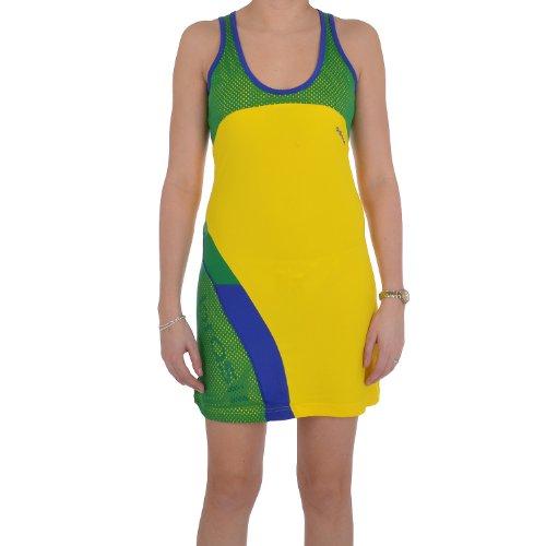 adidas Performance - Damen Trägerkleid - FIFA Fußball WM Brasilien - Gelb - 38 (Fußball-kleid)