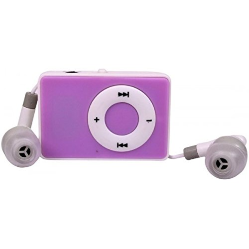 Captcha MP3 Player with TF Card Support (Purple)