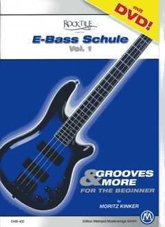 Rocktile E-Bass Schule 1 - arrangiert für E-Bass - mit Tabulator - mit DVD [Noten / Sheetmusic] Komponist: Kinker Moritz