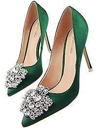 Beikoard(Asia Size) Scarpa da Donna Estremamente Sexy Tacchi Alti Scarpe da  Donna Scarpe con Tacchi Sottili… 9fdc7ccf589