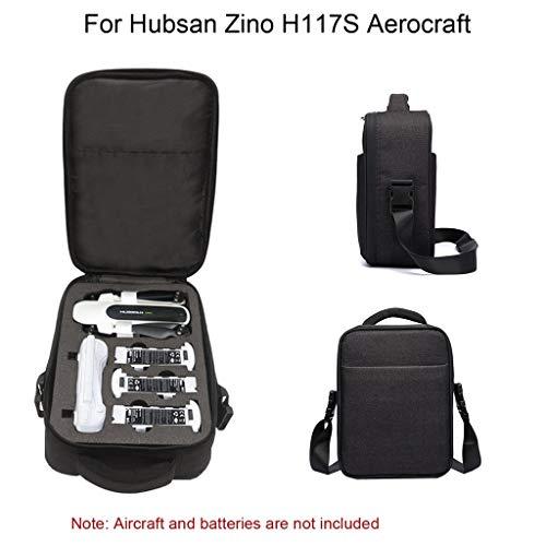 Webla Drone Aufbewahrungstasche, robuste Umhängetasche für Hussan Zino H117S Schutzhülle, Nylon Mobile Blöcke