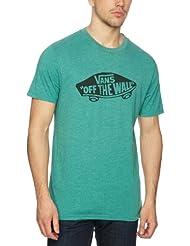 Vans T-shirt Otw - Prenda, color verde, talla S