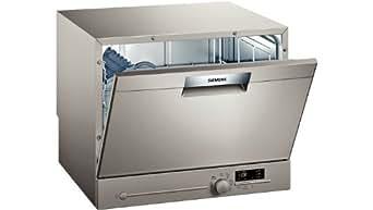 Siemens SK26E820EU lave-vaisselle - laves-vaisselles (Countertop, A, A+, Acier inoxydable, boutons, Rotatif, A)