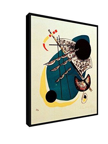 Wassily Kandinsky - Kleine Welten II - 1922 - 20x25 cm - Leinwandbild mit Schattenfugenrahmen -...