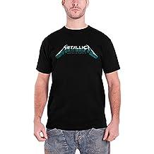 Metallica T Shirt Master of Puppets Póster Band Logo Oficial de los hombres