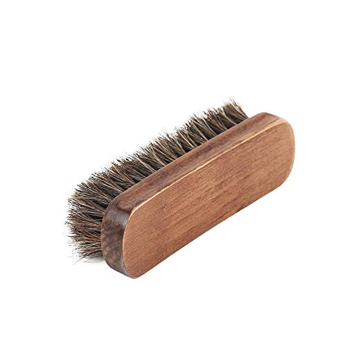 Myzixuan Weiche Schuhbürste Haar Peeling Mahagoni Pinsel Pinsel-pelzigen Schuhe reinigen Bürste Schuhe entfernen Staub Pinsel Schuhbürste -