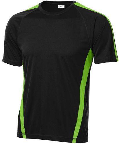 Joe's USA Herren Sport-T-Shirts - Grün - Mittel -