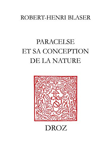 Couverture du livre Paracelse et sa conception de la nature