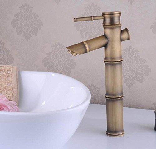 LDONGSH Bambus Kupfer Badezimmer Sitzen Im Europäischen Stil Im Amerikanischen Stil Satiniert Waschbecken Wäscher Um Das Wasser Des Drachen