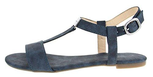 ESPRIT PEPE SANDAL 037EK1W052400 femmes Sandales Bleu