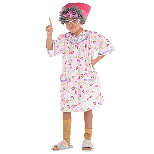 Oma Kostüm Mädchen - Oma - David Williams Oma Kostüm Kinder Mädchen Amscan