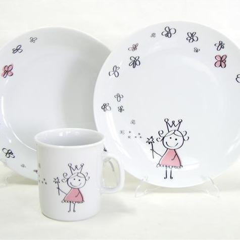 Set Assiette Plate, Assiette Creuse et Mug Molène