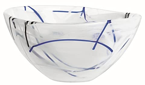 Kosta Boda Contrast Bowl Small White (Kosta Boda Geschenke)