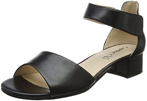 27210, Mules Para Mujer, Multicolor (Navy/Beige 878), 37.5 EU Caprice