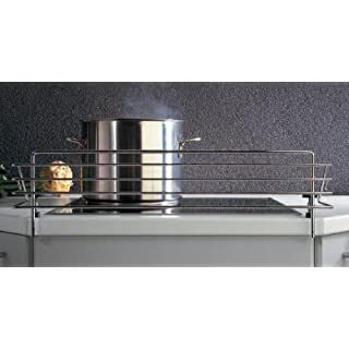 SO-TECH® Hob safety guard Childproof removable cooker bars for 90 cm hob Width: 978 mm / Heigt: 140 mm / Depth: 175 mm
